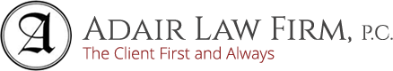 Resolve family matters quickly and easily with Adair Law Firm